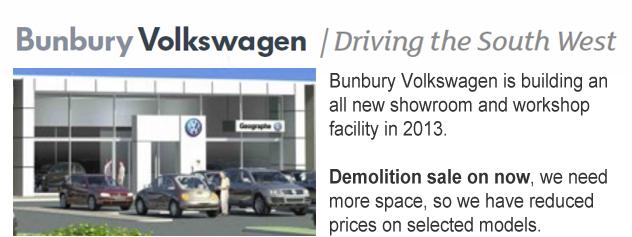 Bunbury Volkswagen